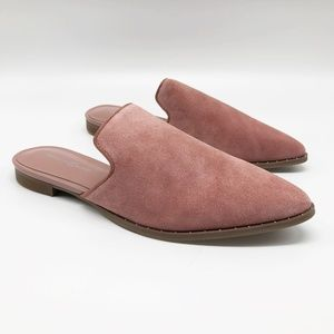 Treasure & Bond Keaton Dusty Rose Loafer Mule